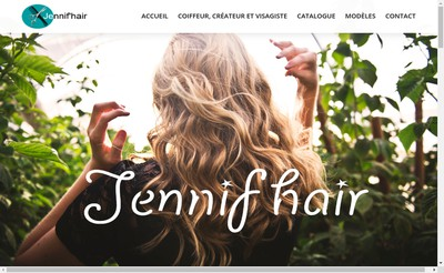 Site internet de Jennif'Hair