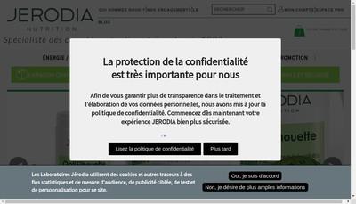 Site internet de Divona Jerodia