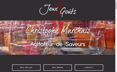 Site internet de Chez Bob
