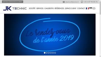 Site internet de Jk Technic