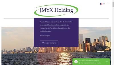 Site internet de Jmyx Holding