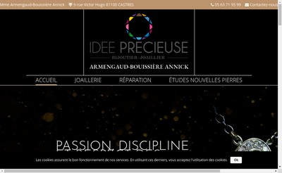 Site internet de Idee Precieuse