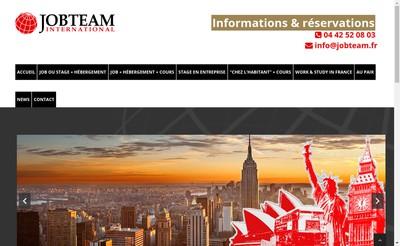 Site internet de Jobteam International