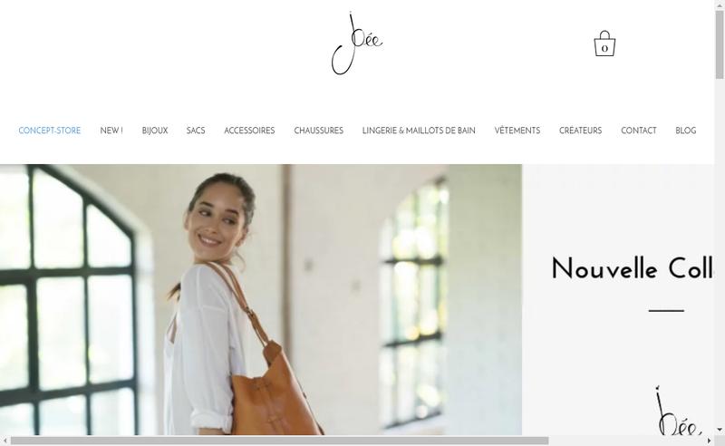 Capture d'écran du site de Lip