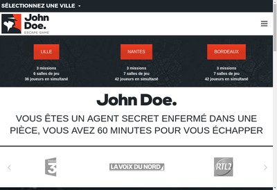 Site internet de John Doe