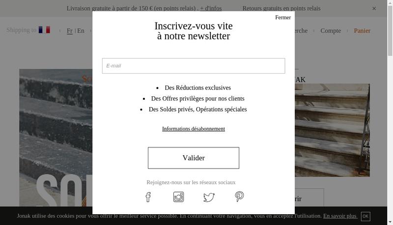 Capture d'écran du site de Kilma-Jonak Jonak.fr