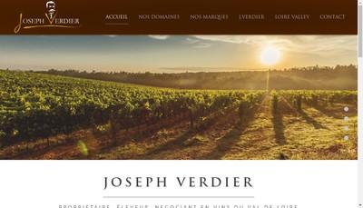 Site internet de Joseph Verdier