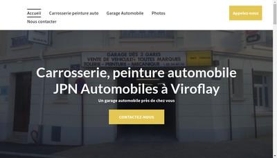 Site internet de Jpn Automobiles