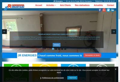 Site internet de Jr Energies