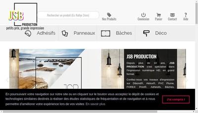 Site internet de Jsb Production