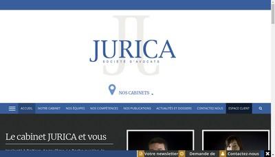Site internet de Jurica