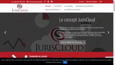 Site internet de JurisCloud
