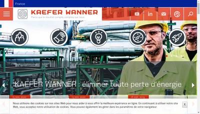 Site internet de Kaefer Wanner
