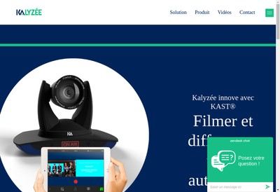 Site internet de Kalyzee