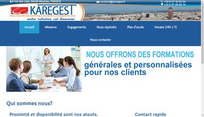 Site internet de Karegest