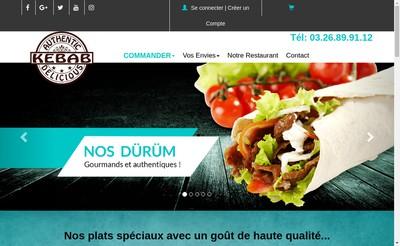 Site internet de Pizzeria Kebab Cernay 51
