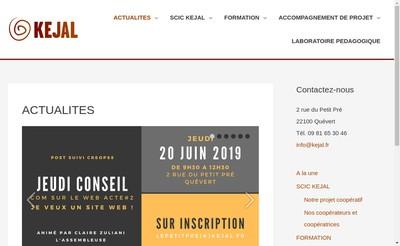 Site internet de Kejal