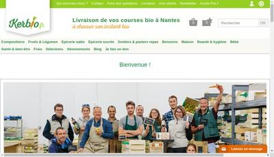 Site internet de Biovista