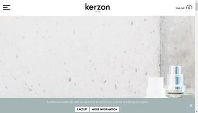 Site internet de Kerzon
