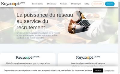 Site internet de Keycoopt