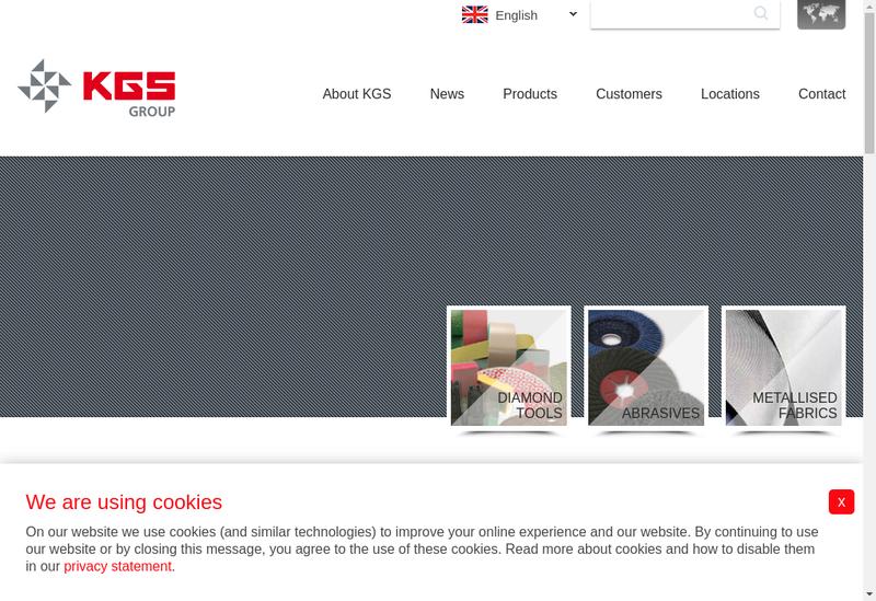 Capture d'écran du site de Kgs Diamond France