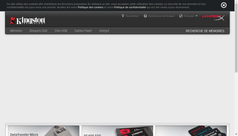 Capture d'écran du site de Mezzanine