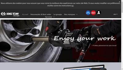 Site internet de King Tony France