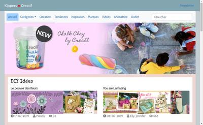 Site internet de Kippers Creatif