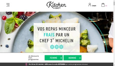 Site internet de Kitchendiet