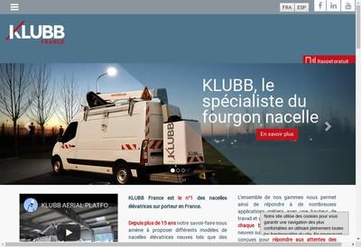 Site internet de Klubb Group