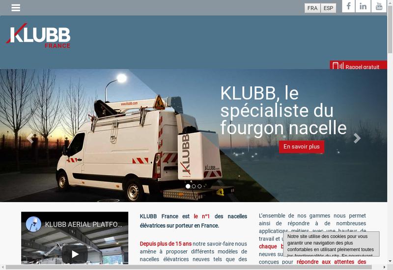 Capture d'écran du site de Gelev