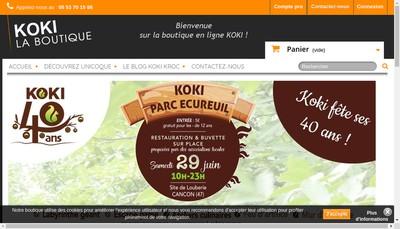 Site internet de Koki
