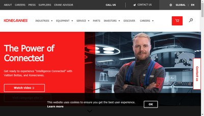 Site internet de Konecranes (France)
