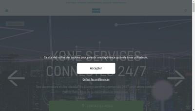 Site internet de Kone