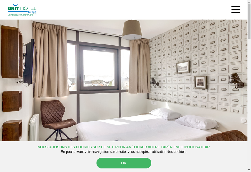 Site internet de Korali Hotel