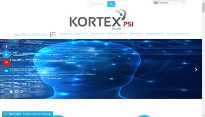 Site internet de Kortex Point Of Sales & Industry