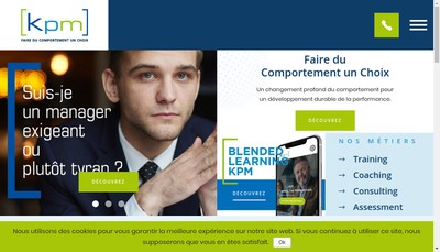 Site internet de KPM