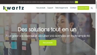 Site internet de Iris Technologie