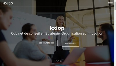 Site internet de Kxiop Kxiop Consulting
