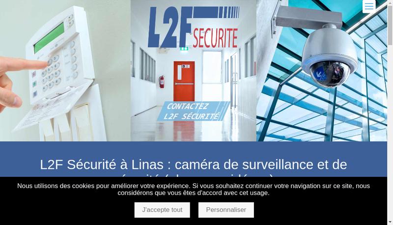 Capture d'écran du site de Entreprise les Deux Freres
