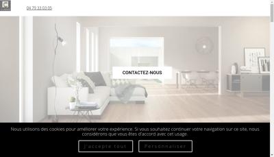 Capture d'écran du site de La Carlerie