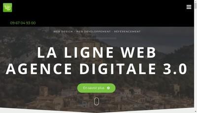 Site internet de La Ligne Web