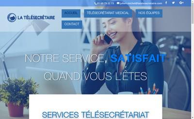 Site internet de La Telesecretaire