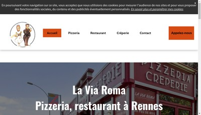 Site internet de La Via Roma