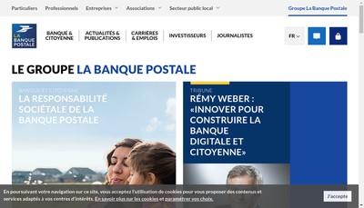 Site internet de La Banque Postale Home Loan Sfh