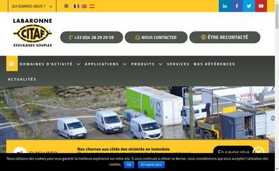 Site internet de Labaronne-Citaf