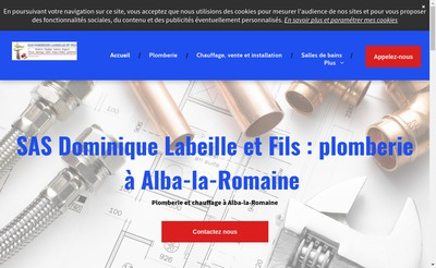 Site internet de Dominique Labeille & Fils