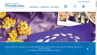 Site internet de La Belle Iloise