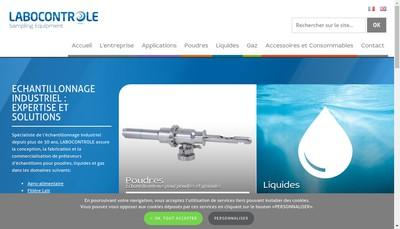 Site internet de Labocontrole