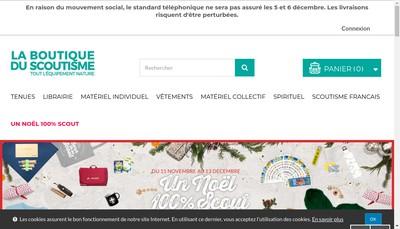 Site internet de Scoutik